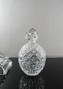 Small Crystal Pineapple Trinket Box