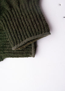 Army Green Wool Gloves