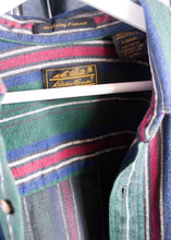 Load image into Gallery viewer, Eddie Bauer 90's Striped Flannel, XL