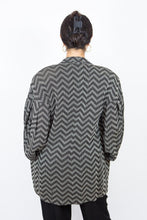 Load image into Gallery viewer, 80's Luciano Soprani Zig-Zag Blazer, Size 10
