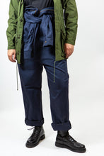 Load image into Gallery viewer, Navy Coverall Jumpsuit, Size 42