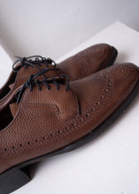Load image into Gallery viewer, Rand Brown Brogue Oxfords, Men's 8.5