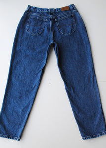 Cropped Dark Lee Jeans, 30""