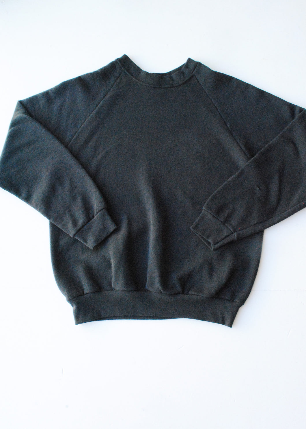 Vintage Black Sweatshirt, Medium
