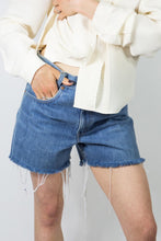 Load image into Gallery viewer, 70's Baby Blue Levi's Cutoffs, 30""