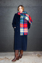 Load image into Gallery viewer, Pendleton Navy Wool Overcoat, Medium