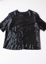 Load image into Gallery viewer, Mondi Sequined Tee, Large