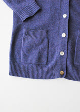 Load image into Gallery viewer, Lavender Wool Cardigan, Large