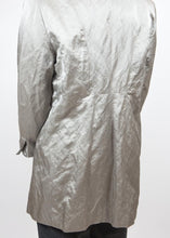 Load image into Gallery viewer, Silver Eileen Fisher Crinkle Jacket, Large