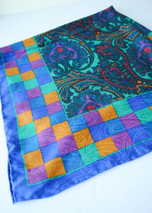 Alfred Sung Paisley Scarf