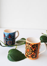 Load image into Gallery viewer, Vintage Art Nouveau Mugs (Set of 2)