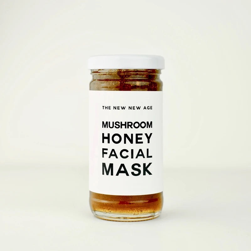 Mushroom and Honey Face Mask by the New New Age