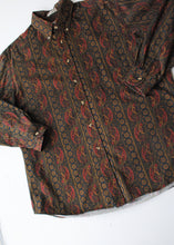 Load image into Gallery viewer, 90's Paisley Button-Up, Large