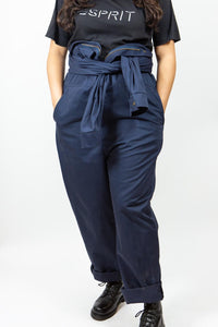 Navy Coverall Jumpsuit, Size 42