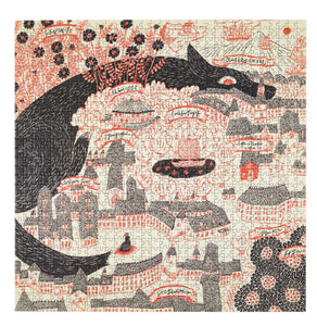 Evening Kingdom Puzzle by Sanae Sugimoto, Four Points