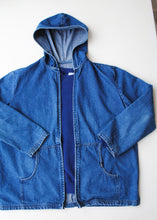 Load image into Gallery viewer, Hooded Denim Chic Jacket, Medium-Large
