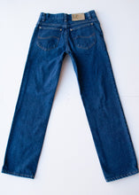 Load image into Gallery viewer, Dark Lee Straight Leg Jeans, 28""