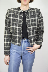 Emanuel Ungaro Plaid Bolero, Large