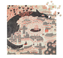 Load image into Gallery viewer, Evening Kingdom Puzzle by Sanae Sugimoto, Four Points
