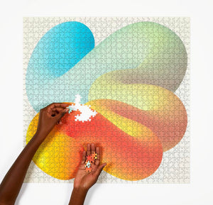 Fade Puzzle by Sara Andreasson, Four Points