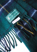 Load image into Gallery viewer, Scottish Plaid Wool Scarf