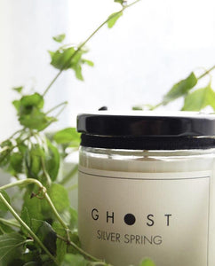 Silver Spring Candle by Ghost