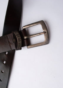 90's Replay Brown Leather Belt, 31-32