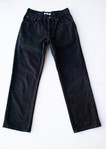 LL Bean Cropped Black Jeans, 28""