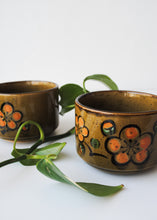 Load image into Gallery viewer, Japanese Floral Mugs (Set of 2)