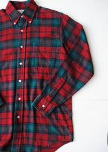 Load image into Gallery viewer, LL Bean Flannel Oxford, Sm-Med