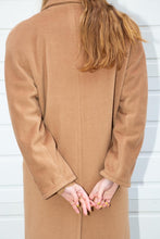 Load image into Gallery viewer, Votre Nom Camel Overcoat, Medium