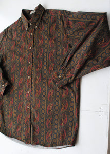 90's Paisley Button-Up, Large