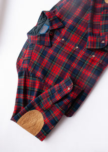 Pendleton Plaid Wool Shirt, Large