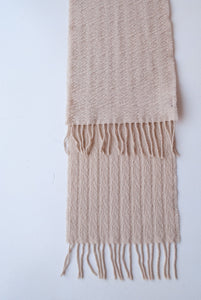 Danier Cream Wool Scarf