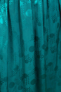 Emerald Silk Holt Renfrew Party Dress, 10