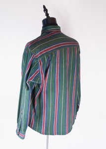 Eddie Bauer 90's Striped Flannel, XL
