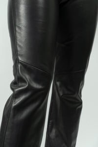"Ultra Soft Danier Leather Pants, Size 8/32"" Waist"