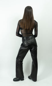 "Buttery Danier Leather Pants, Size 4/29"" Waist"