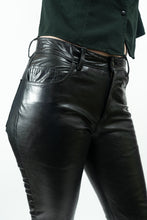 "Load image into Gallery viewer, Gap Black Leather Jeans, 29"" Waist/Size 8"