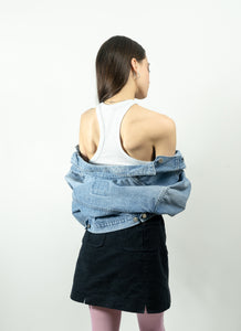 90's Cropped Gap Jean Jacket, Small