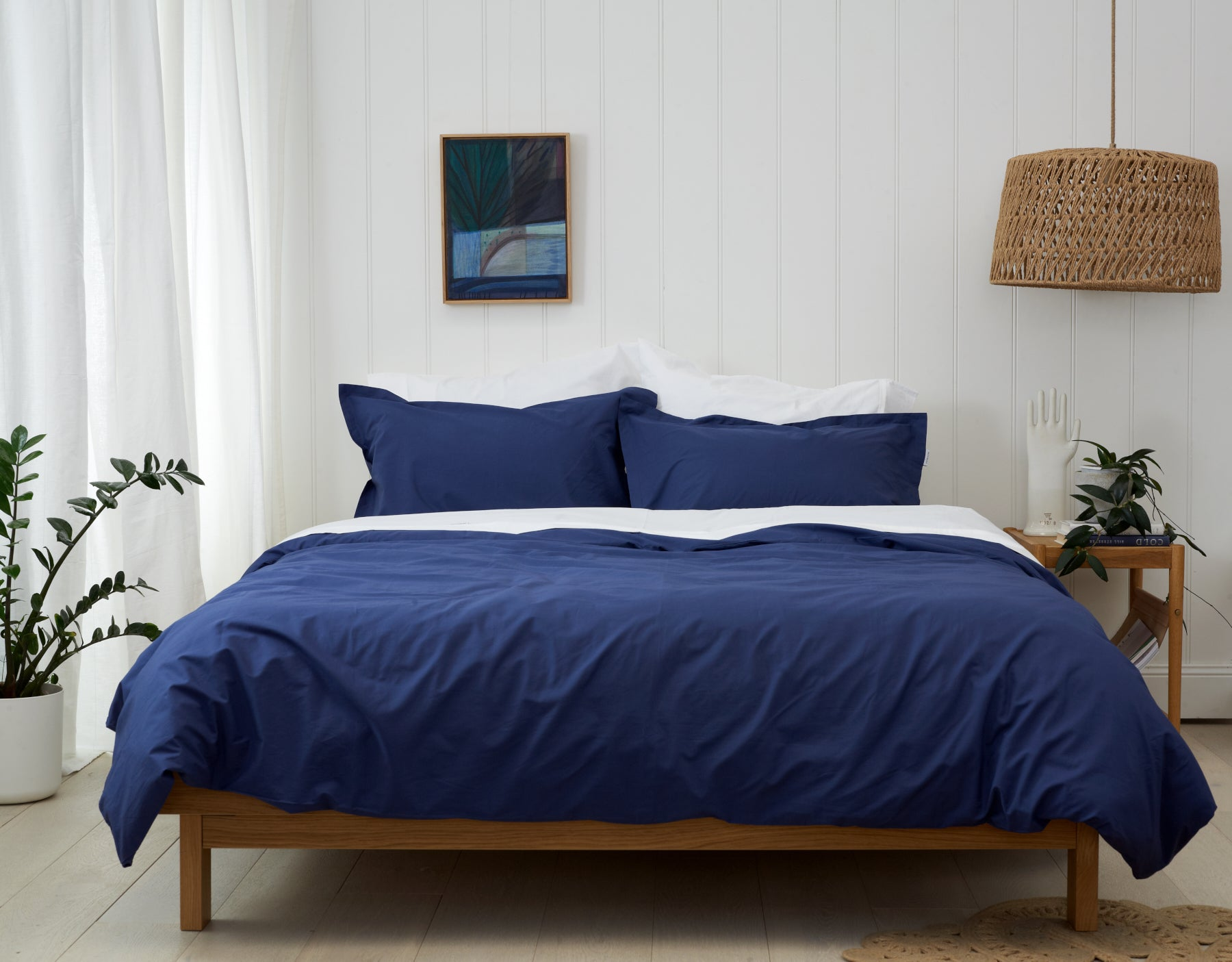 Urban Indigo -Bedlinen Bundle Buy. Includes White Sheet Set and Indigo Duvet Cover. Single-King Sizes. Save 5% when you buy this look. Free Shipping Australia. Afterpay and ZipPay