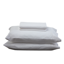 WHITE SHEET SET - Feyrehome Australia.  100% extra-long staple cotton percale sheet set.  Free Shipping Australia. Afterpay and ZipPay