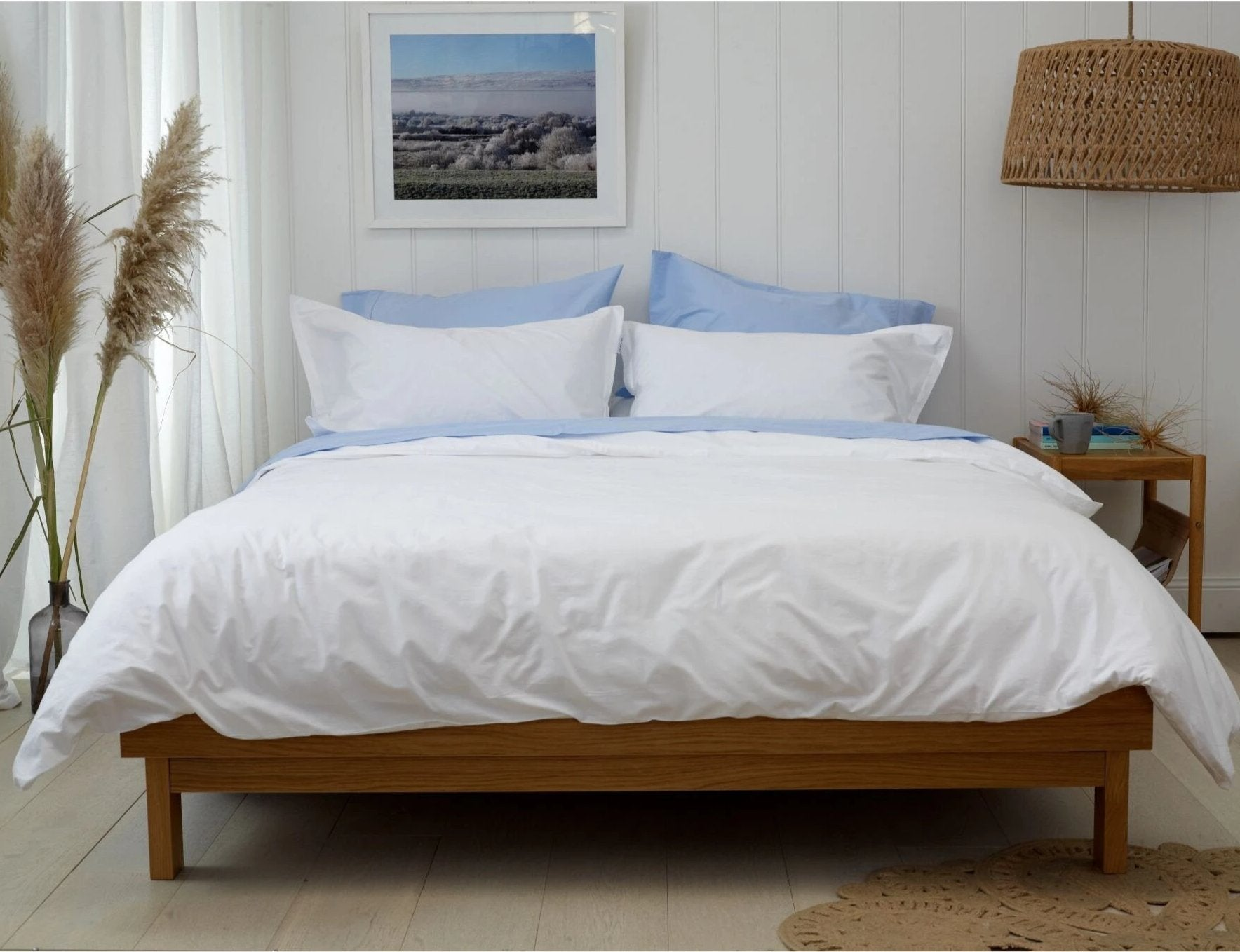 CITY BEACH - DREAM SET - Feyrehome Australia.  Bedlinen Bundle Buy.  100% extra-long staple cotton percale.  300TC.  Free shipping Australia.  Afterpay and ZipPay