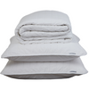 WHITE QUILTED BEDSPREAD + EURO PILLOWCASE SET - Feyrehome Australia. 100% Cotton Percale. Single/Double Size and Queen/King Size. Free Shipping Australia. Afterpay and ZipPay