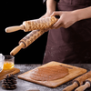 Christmas Rolling Pin and Cookie Cutter
