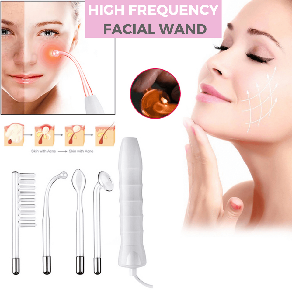 Derma High Frequency Therapy Wand