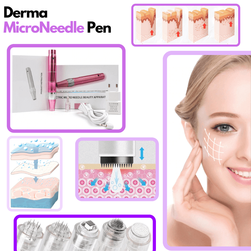 The DermaPen - Professional Microneedle Skin Care Kit