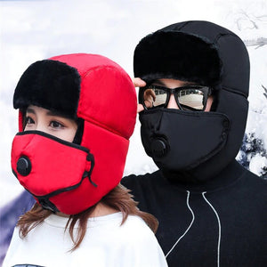 Winter Hat with Mask