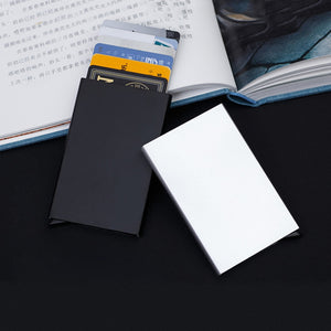 Auto™️ - Aluminum Slim Pop Up Card Holder Wallet