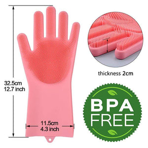 Magic Hands - The Original Magic Dishwashing Gloves (BPA FREE)